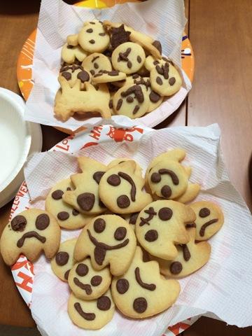 手作りハロウィンクッキーのナイスアイデア