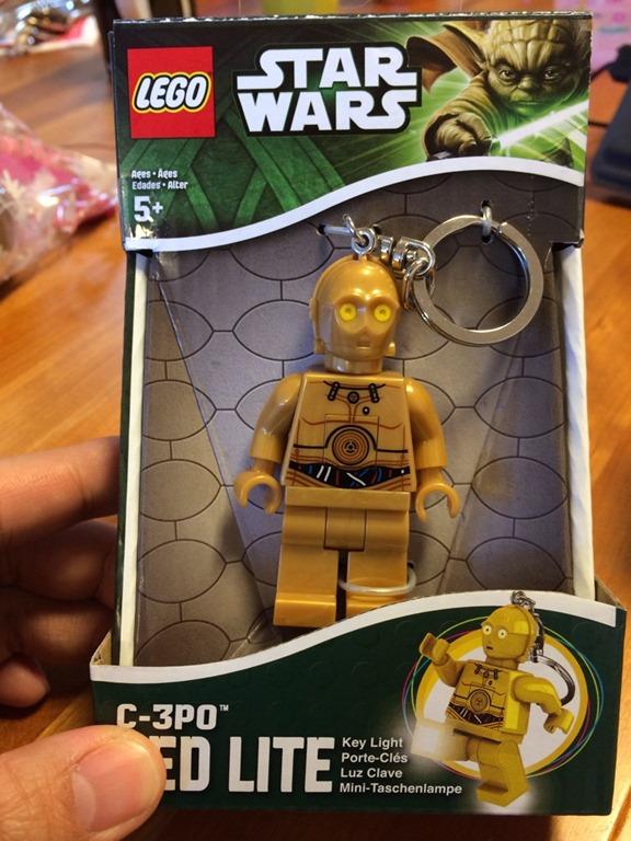 【LEGO】STAR WARS C-3PO LED LITEはキュートでガジェットおじさんのハートをキャッチ!