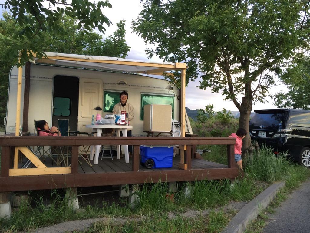 かんなの湯・ロハスガルデンキャンプ場で子連れでもお手軽キャンプ の巻