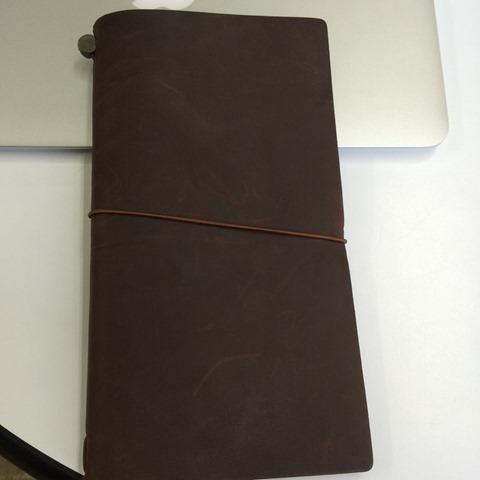トラベラーズノートを買ってみましたよ の巻